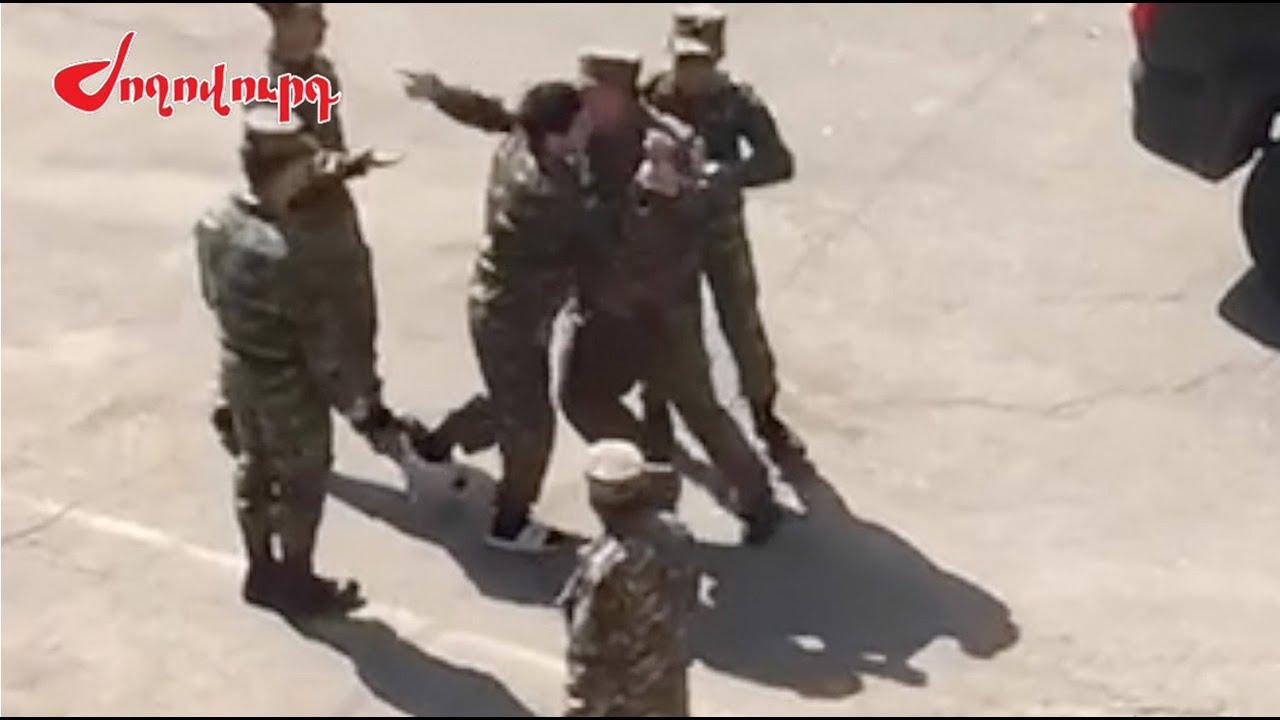 ԲԱՑԱՌԻԿ. Հրամանատարը բռնություն է գործադրել զինվորների նկատմամբ